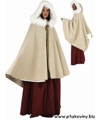 Plášť s kapucí zimní
