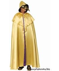 Plášť Domino žlutý