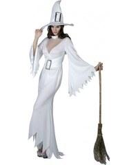 Kostým Čarodějnice bílá Velikost M/L 42-44