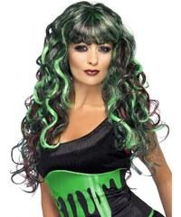 Paruka Siren zelená/fialová