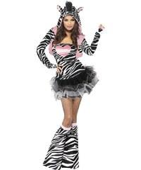 Kostým Sexy zebra Velikost L 44-46