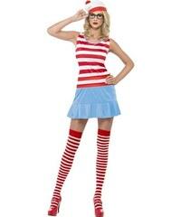 Kostým Wenda Wheres Wally? Velikost M 40-42