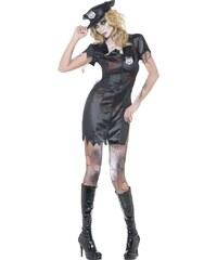 Kostým Zombie policajtka Velikost M 40-42