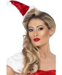 Čepice Santa na čelence
