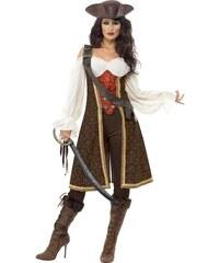 Kostým Mořská pirátka Velikost L 44-46