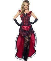 Kostým Lehká dívka červená Velikost L 44-46