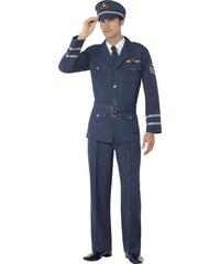 Kostým Air Force Captain Velikost L 52-54