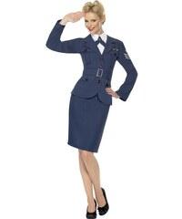 Kostým Air Force kapitánka Velikost L 44-46