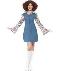 Kostým Groovier Dancer modrý Velikost L 44-46