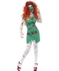Kostým Zombie sálová sestra Velikost L 44-46