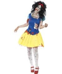 Kostým Zombie Sněhurka Velikost L 44-46