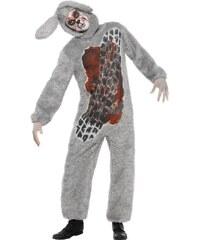 Kostým Přejetý králík Velikost M 48-50