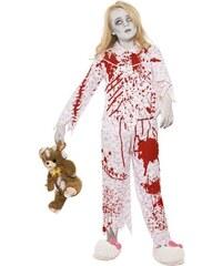 Kostým Zombie holka v pyžamu Pro věk(roků) 10-12