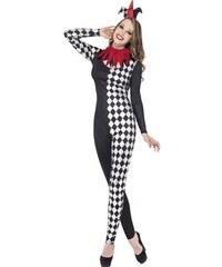 Kostým Sexy harlequin Velikost L 44-46