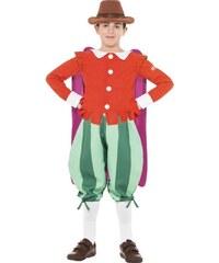 Dětský kostým Guy Fawkes Horrible Histories Pro věk (roků) 10-12