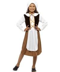 Dětský kostým Tudor girl Pro věk (roků) 10-12