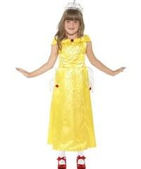 Dětský kostým Princezna Bella Pro věk (roků) 7-9