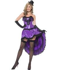 Kostým Burlesque fialová Velikost L 44-46