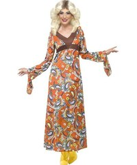 Kostým Woodstock maxi dress Velikost L 44-46