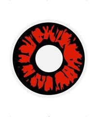 Oční čočky Explosion red