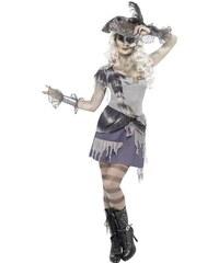 Kostým Duch pirátky Velikost M 40-42