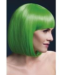 Paruka Elise neonová zelená