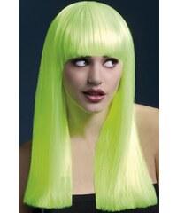 Paruka Alexia neonová žlutá
