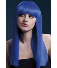 Paruka Alexia neonová modrá