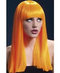 Paruka Alexia neonová oranžová