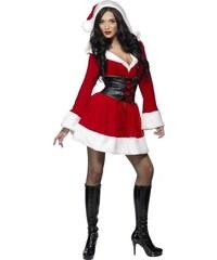 Kostým Sexy Santa Velikost L 44-46