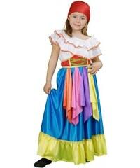 Dětský kostým Cikánka Pro věk (roků) 3-4