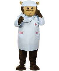 Šaty na maskota doktor