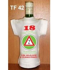 Tričko na flašku 18 Až vypiješ tenhle tekutý ...