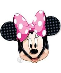 Uši Minnie Mouse s růžovou mašlí