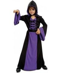 Dětský kostým Fialová kouzelnice Pro věk (roků) 10-12