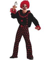 Kostým Ďábelský klaun Velikost M/L 50-52