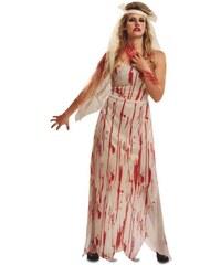 Kostým Zombie nevěsta Velikost M/L 42-44