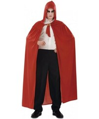 Plášť s kapucí červený Velikost M/L 50-52
