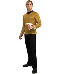 Kostým Gold shirt deluxe Star Trek Velikost L