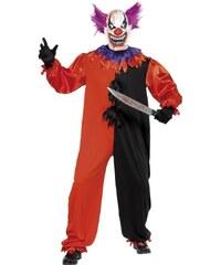 Kostým Klaun halloween Velikost L 52-54