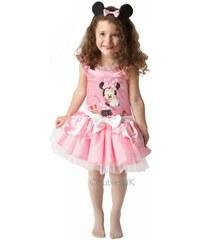 Dětský kostým Minie Mouse balerína růžová Pro věk (roků) 1-2