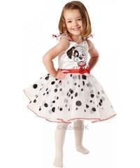Dětský kostým 101 Dalmatínů balerína Pro věk (roků) 1-2