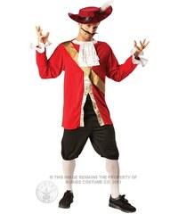 Kostým Captain Hook Velikost STD