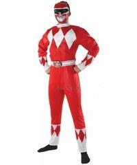Kostým Mighty Morphin Red Ranger Velikost STD