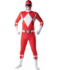 Kostým Mighty Morphin Red Ranger 2ND Skin Velikost L