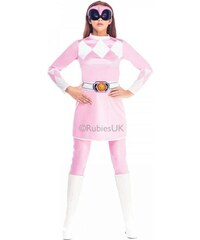 Kostým Pink Ranger Mighty Morphin Velikost L