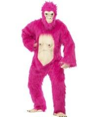 Kostým Gorila růžová