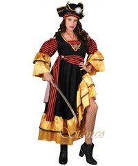 Kostým Karibská pirátka