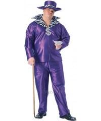 Kostým Big Daddy fialový