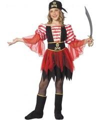 Dětský kostým Pirátka Pro věk (roků) 10-12